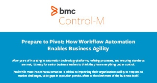 Prepare to Pivot: How Workflow Automation Enables Business Agility