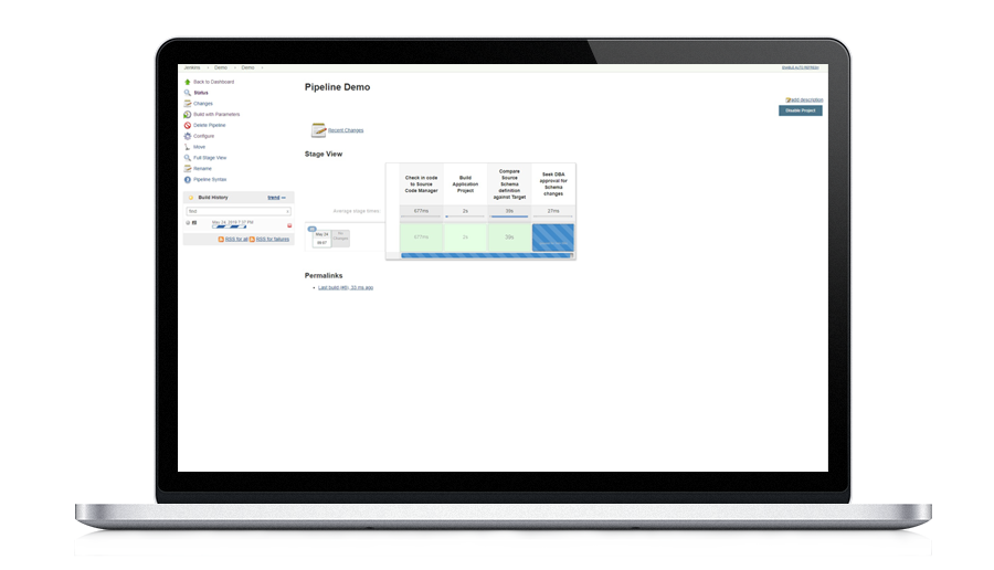 Streamline app dev processes with database change automation