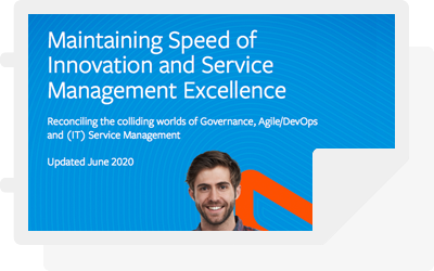 White paper: Maintaining Speed of Innovation and Service Management Excellence
